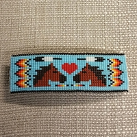 Barrette, Large #587HS-C