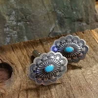 Cufflinks with Turquoise