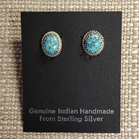 Earrings-Turquoise posts