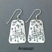 Earrings, medium-4 designs - ERR71