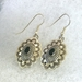Earrings with Black Onyx - ER310ONW