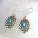 Earrings with Turquoise - ER310TQW