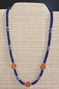 Lapis and Carnelian Necklace