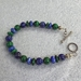 Lapis and Malachite Toggle Bracelet - BRT7472