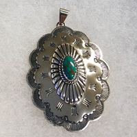 Pendant with Turquoise, large