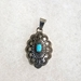 Pendant with Turquoise, small - PD310TQ