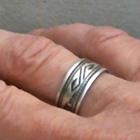 Hopi Bird Band Ring