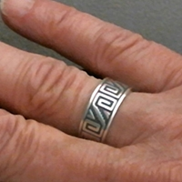Anasazi Band Ring