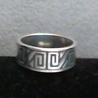 Anasazi Band Ring-wide