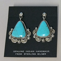 Earrings-Turquoise