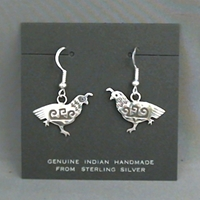 Earrings-Quail
