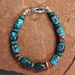 Turquoise and Spiney Oyster Toggle Bracelet - BRT7802VS2