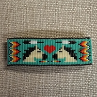 Barrette, Large #587HS-D